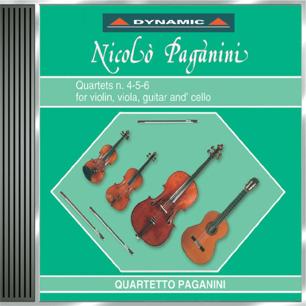 Paganini Quartet - Paganini: 15 Quartets for Strings and Guitar (The), Vol. 4