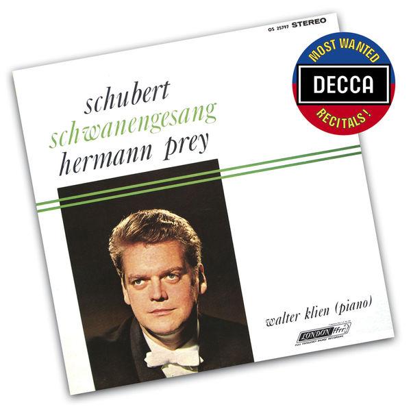 Hermann Prey - Schubert : Schwanengesang