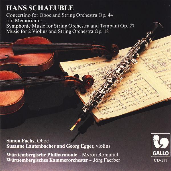 Simon Fuchs - Hans Schaeuble: Orchesterwerke