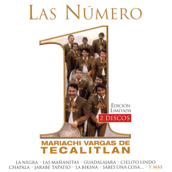 Mariachi Vargas de Tecalitlán - Las Numero 1 Del Mariachi Vargas De Tecalitlan