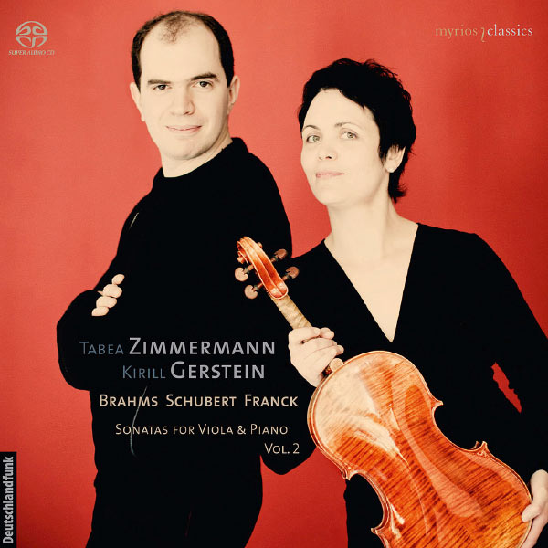 Tabea Zimmermann - Brahms, Schubert, Franck : Sonatas for Viola & Piano, Vol. 2