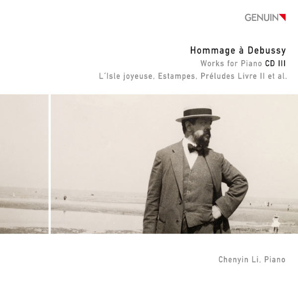 Chenyin Li - Hommage à Debussy - Works for Piano CD 3