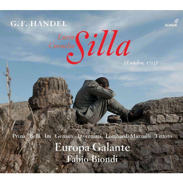 Fabio Biondi - Handel : Silla