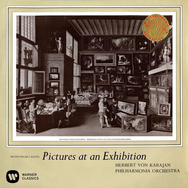 Herbert von Karajan - Mussorgsky: Pictures at an Exhibition (Édition Studio Masters)