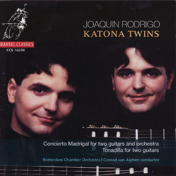 Katona Twins - Rodrigo: Concierto Madrigal For Two Guitars and Orchestra / Tonadilla For Two Guitars