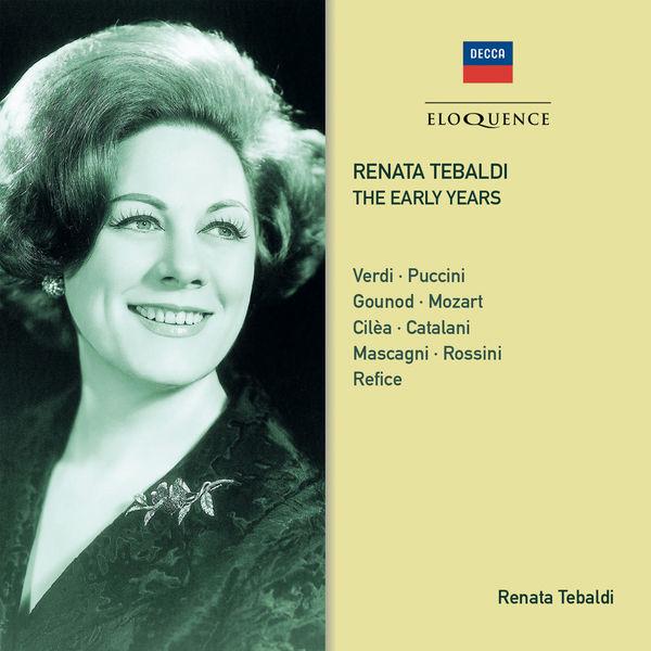 Renata Tebaldi - Renata Tebaldi. The Early Years