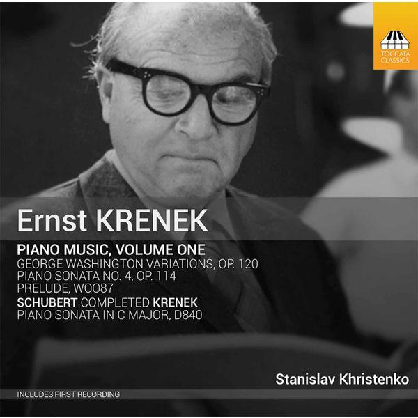 Stanislav Khristenko - Krenek: Piano Music, Vol. 1