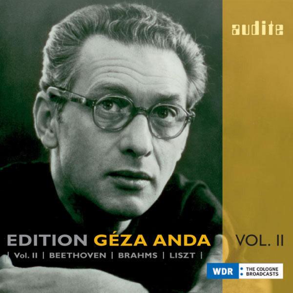 Geza Anda - Edition Geza Anda, Vol. 2 - Beethoven, Brahms, Liszt (1955-1959)