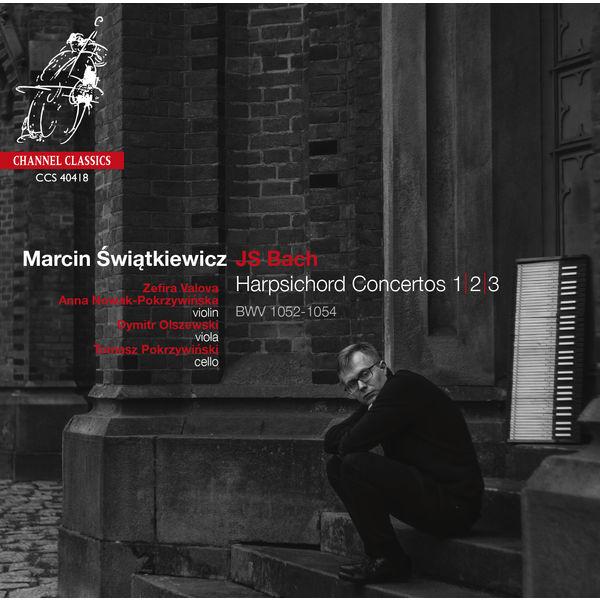Marcin Świątkiewicz|J.S. Bach: Harpsichord Concertos BWV1052-1054