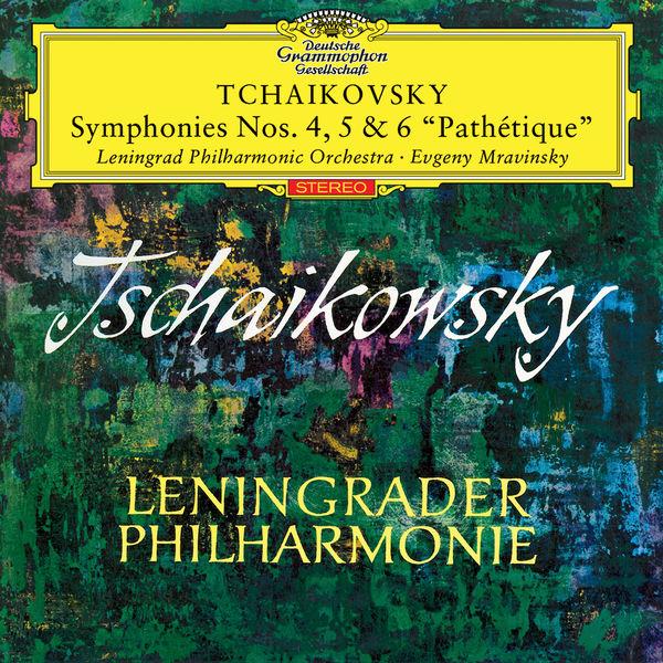 """Evgeny Mravinsky - Tchaikovsky: Symphonies Nos.4, 5 & 6 """"Pathetique"""""""