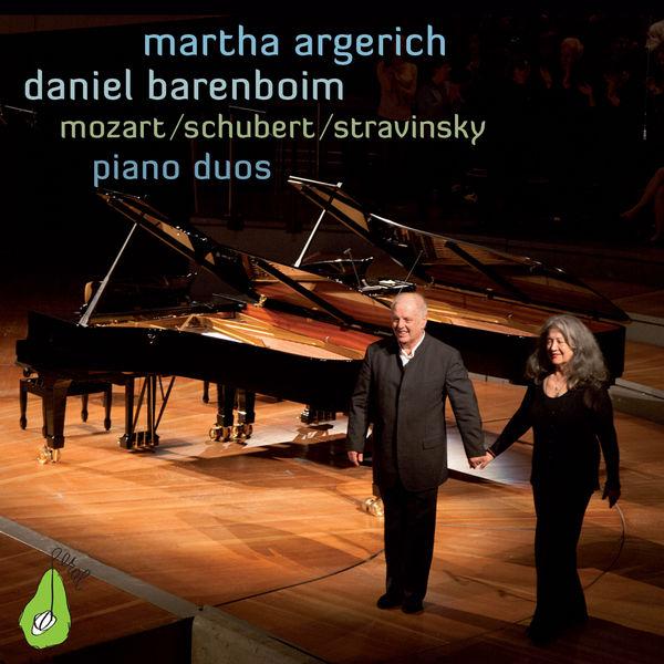Martha Argerich - Mozart, Schubert & Stravinsky Piano Duos