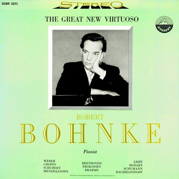 Robert-Alexander Bohnke - Robert-Alexander Bohnke: The Great New Virtuoso (Transferred from the Original Everest Records Master Tapes)
