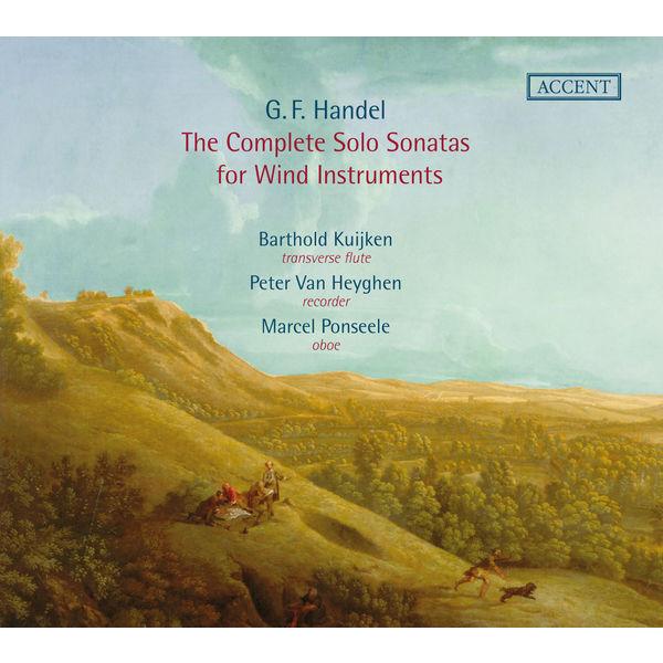 Barthold Kuijken - Händel: The Complete Solo Sonatas for Wind Instruments