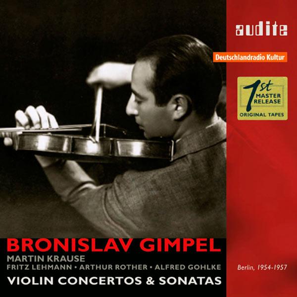 Rias Symphony Orchestra - Bronislav Gimpel: Violin Concertos & Sonatas (1954-1957)