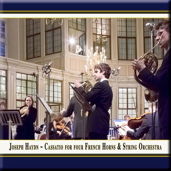 Sibylle Mahni - Haydn: Divertimento (Cassation) No. 10 for 4 Horns & Strings in D Major, Hob. II:D22