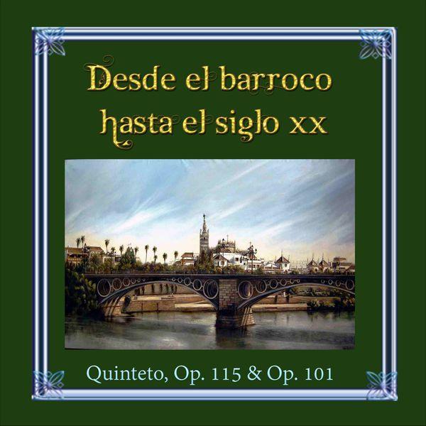 Vladimir Riha - Desde el barroco hasta el siglo XX, Brahms, Quinteto, Op. 115 & Op. 101