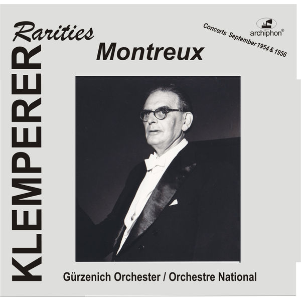 Anonymous - Klemperer Rarities: Montreux