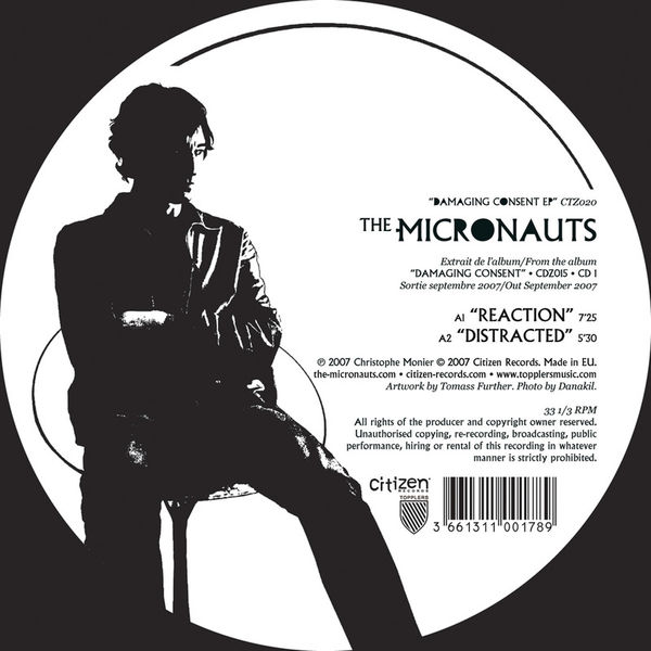 The Micronauts - Damaging Consent -  EP