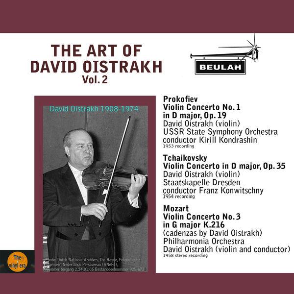 David Oïstrakh - The Art of David Oistrakh, Vol. 2