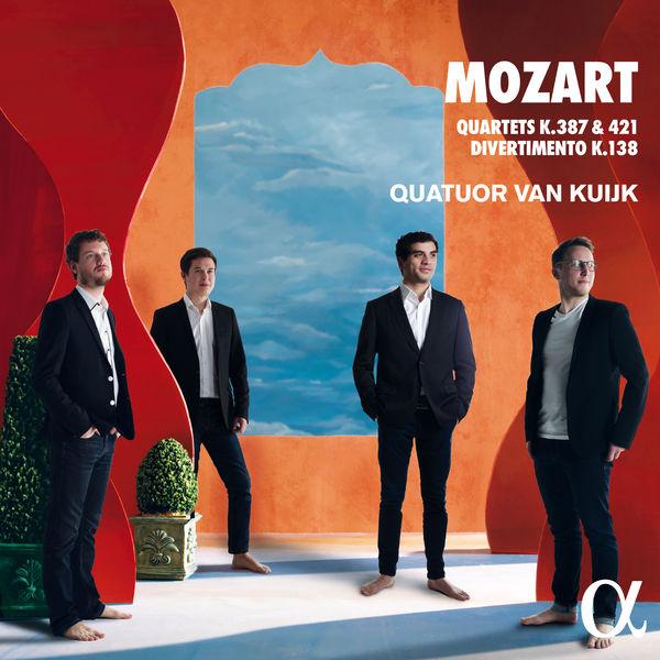 Quatuor Van Kuijk - Mozart: Quartets K.387, K.421 & Divertimento K.138