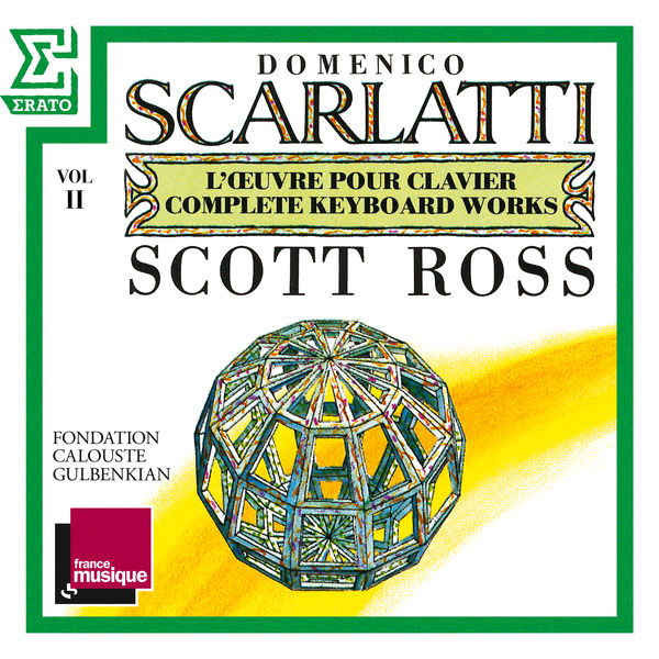 Scott Ross - Scarlatti: The Complete Keyboard Works, Vol. 2: Sonatas, Kk. 31 - 50