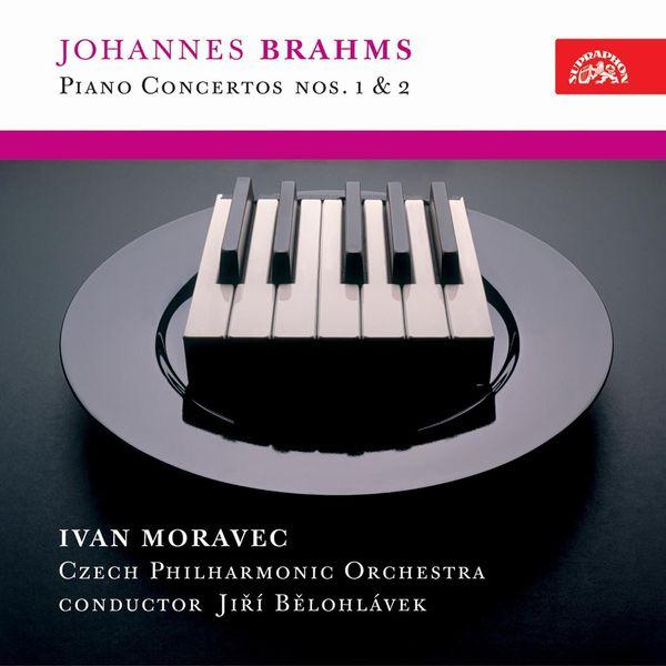 Ivan Moravec, František Host, Jiří Bělohlávek, Czech Philharmonic - Brahms: Piano Concertos Nos. 1 & 2