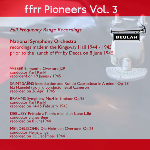 National Symphony Orchestra - Ffrr Pioneers, Vol. 3