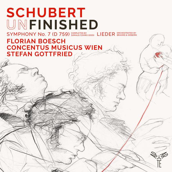 "Stefan Gottfried - Schubert : Symphony No. 7 ""Unfinished"" & Lieder"