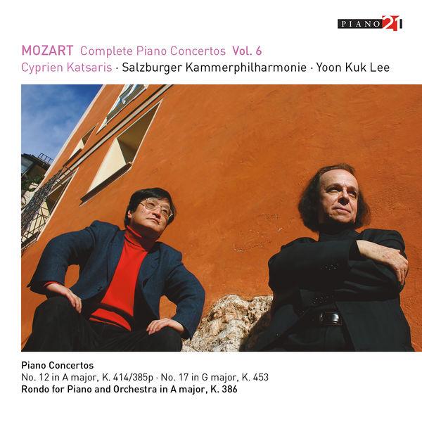 Cyprien Katsaris - Mozart: Complete Piano Concertos, Vol.6 (Live - K.414 & 453)