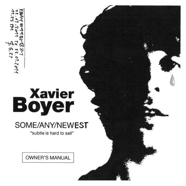 Xavier Boyer|Owner's Manual