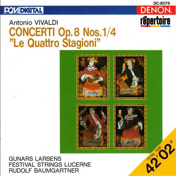 """Rudolf Baumgartner - Vivaldi: Concerti Op. 8 Nos. 1-4 """"Le Quattro Stagioni"""""""