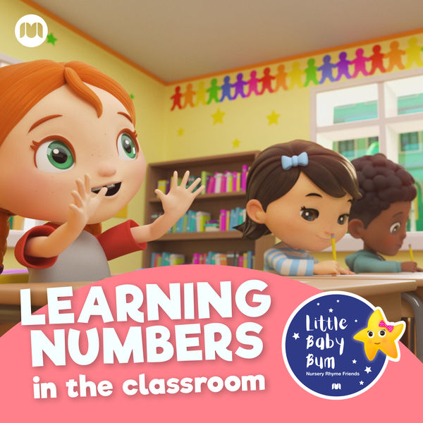 Little Baby Bum Nursery Rhyme Friends - Learning Numbers in the Classroom