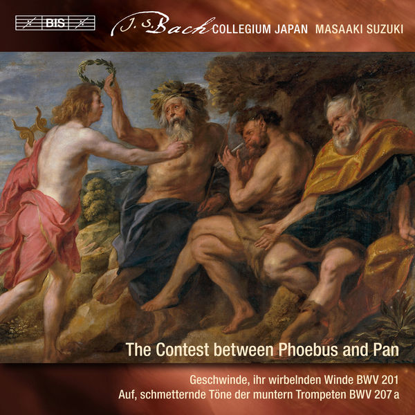 Bach Collegium Japan - J.S. Bach: Secular Cantatas, Vol. 9 – The Contest Between Phoebus and Pan