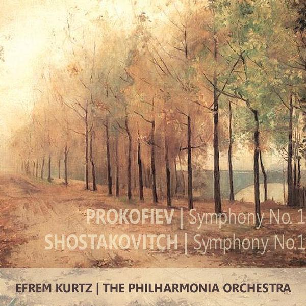 "Philharmonia Orchestra - Prokofiev: Symphony No. 1 in D Major, Op. 25, ""Classical"" - Shostakovch: Symphony No. 1 in F Major, Op. 10"