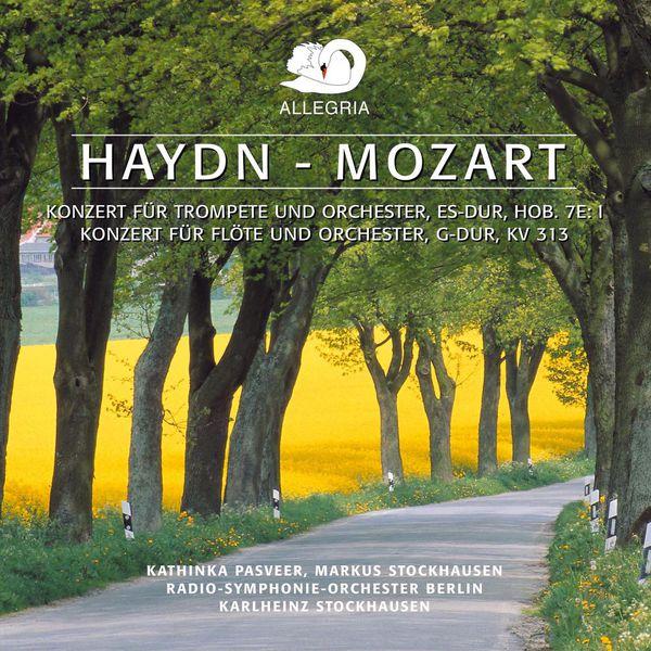 Karlheinz Stockhausen - Mozart: Flute Concerto No. 1 - Haydn: Trumpet Concerto