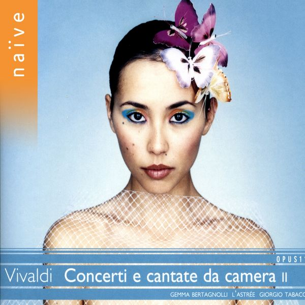 Giorgio Tabacco - Vivaldi : concerti et cantate da camera II