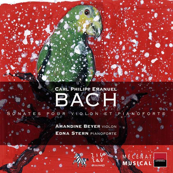 Edna Stern - C.P.E. Bach : Sonates pour violon et pianoforte