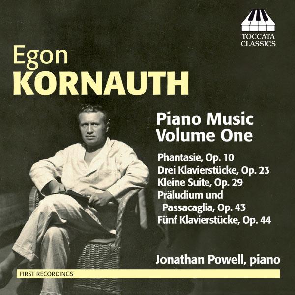 Jonathan Powell - Musique pour piano (Volume 1)
