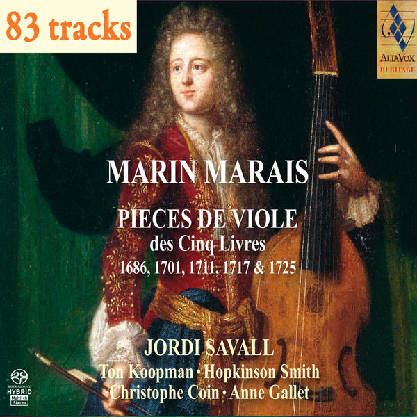 Marin Marais - Marin Marais: Pièces de viole des Cinq Livres