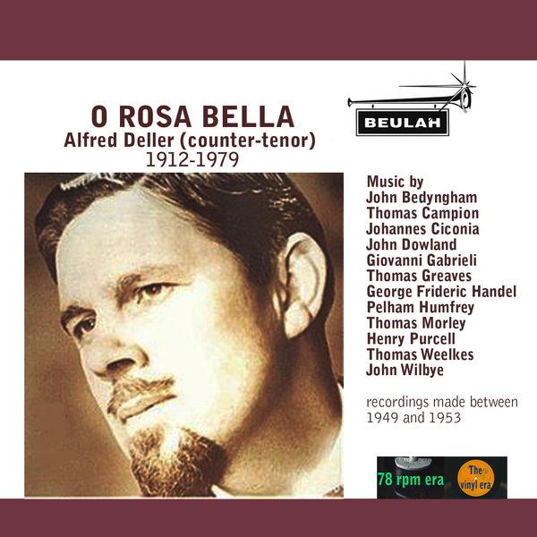 Alfred Deller - O Rosa Bella