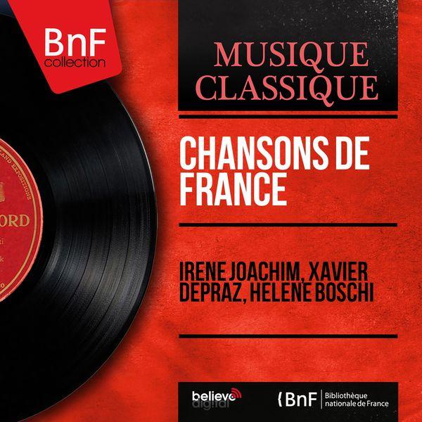 Irène Joachim - Chansons de France (Mono version)