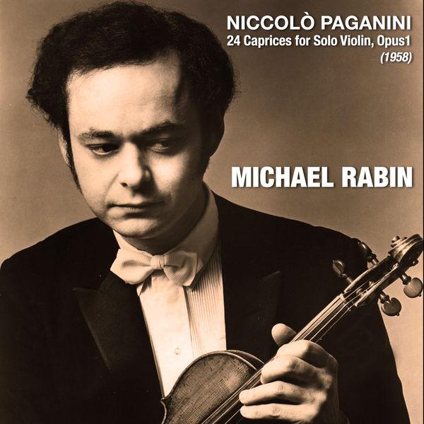 Niccolò Paganini - Niccolò Paganini: 24 Caprices for Solo Violin, Opus1 (1958)