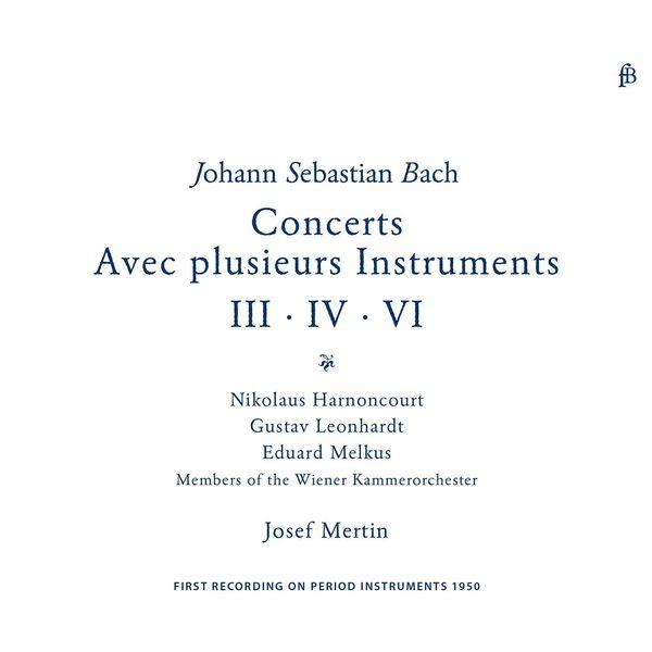 Nikolaus Harnoncourt - Bach: Brandenburg Concertos Nos. 3, 4 & 6