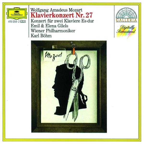 Emil Gilels - Mozart: Piano Concerto No.27; Concerto for Two Pianos K.365