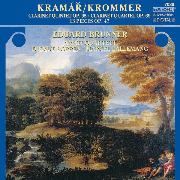 Amati Quartet - KROMMER, F.: 13 Pieces / Clarinet Quintet, Op. 95 / Partita, Op. 69 (Amati Quartet)