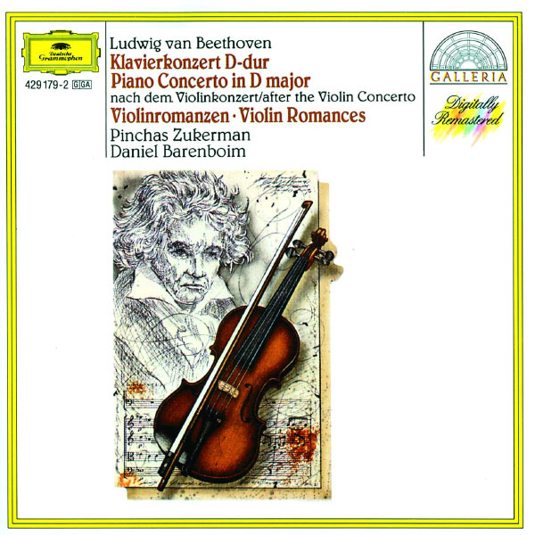 Pinchas Zukerman - Beethoven: Piano Concerto after the Violin Concerto; Violin Romances