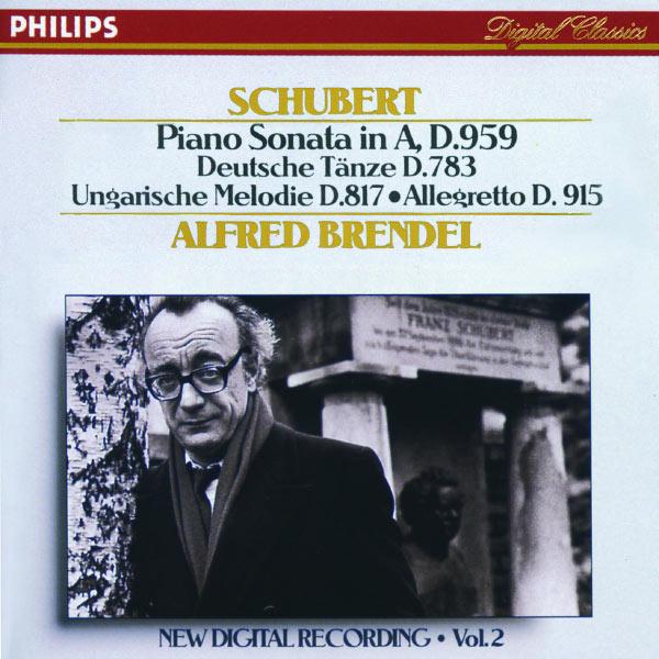 Alfred Brendel - Schubert: Piano Sonata in A, D.959/No.20; Hungarian Melody; 16 German Dances etc.