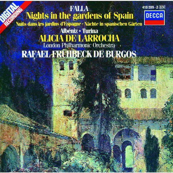 Alicia de Larrocha|Falla: Nights in the Gardens of Spain / Albéniz: Rapsodia Española / Turina: Rapsodia sinfonica