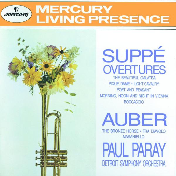Detroit Symphony Orchestra - Suppé: Overtures / Auber: Fra Diavolo, Masaniello