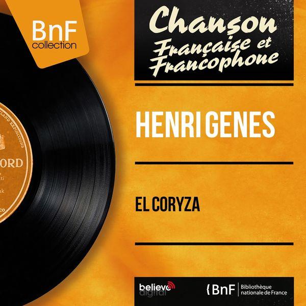 Henri Genes - El Coryza (feat. Marius Coste et son orchestre) [Mono Version]